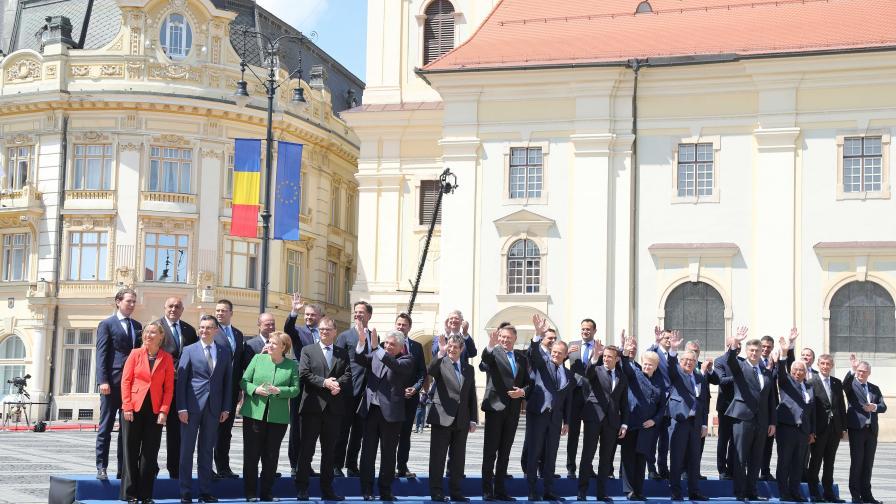 <p>Ето какво е бъдещето на ЕС според лидерите</p>