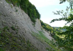 Опасно свлачище във Великотърновско
