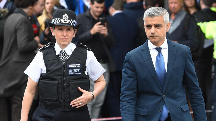 Заплахи срещу кмета на Лондон, 24-часова полиция