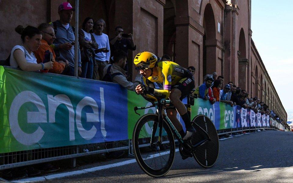 Джирото започна с успех в часовника до Сан Лука за Примож Роглич