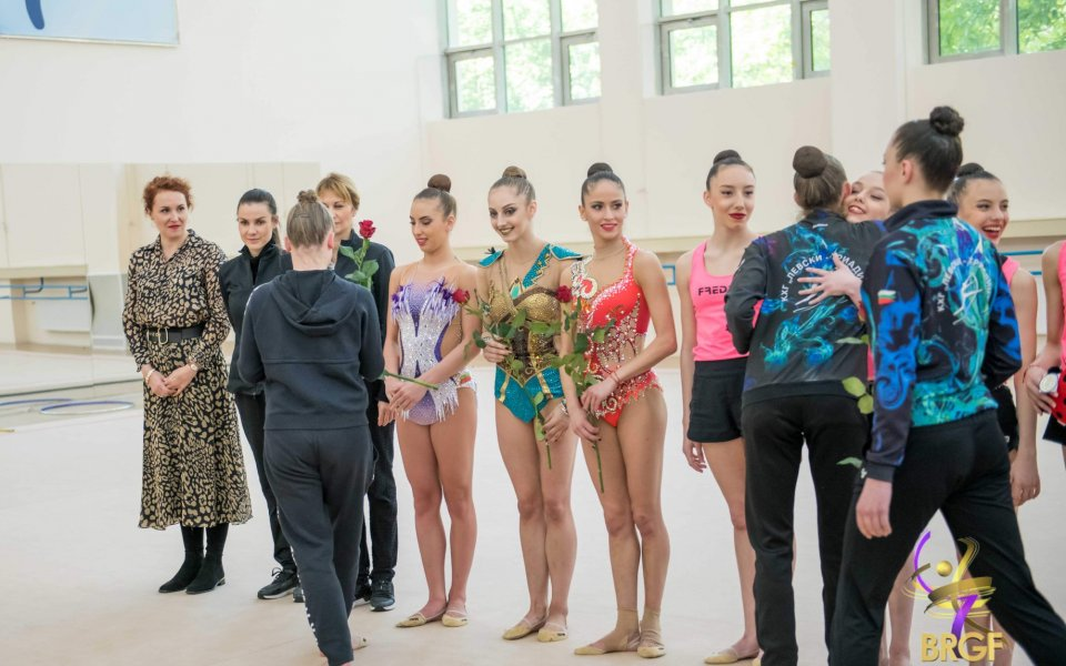 Една от примите на българската художествена гимнастика Мария Гигова е