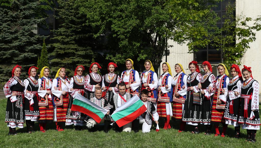 """Преди Националния фолклорен фестивал """"Магията на хорото"""", който се проведе на 11 Май 2019г. в НДК, София"""