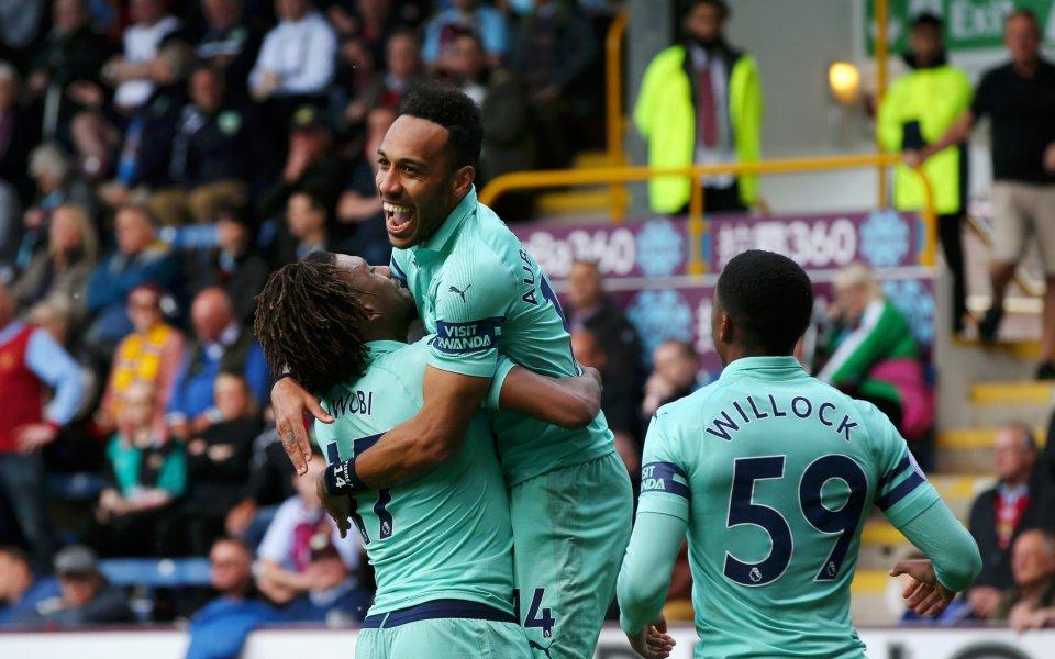 Отборът на Арсенал завърши сезона във Висшата лига с победа.