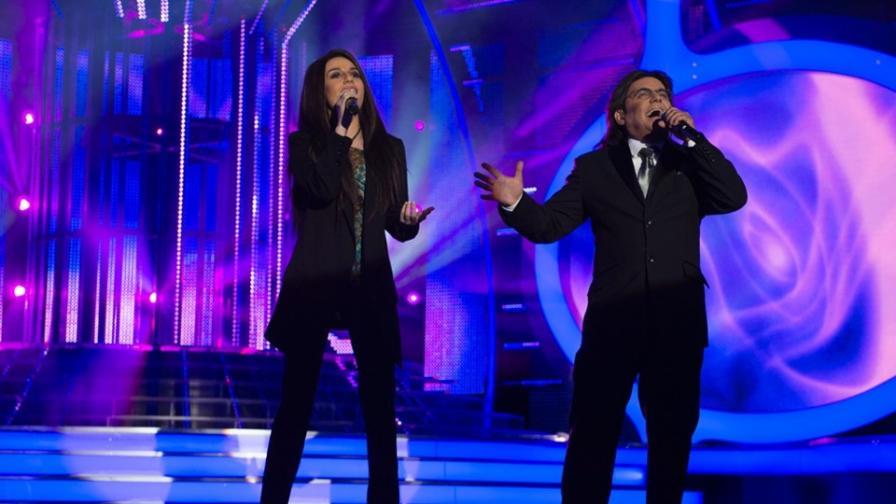 Дичо и Михаела Маринова превзеха сцената като Ал Бано и Ромина