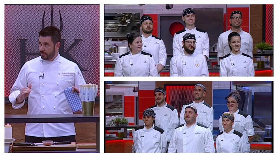 Финалистите от първи и втори сезон на Hell's Kitchen в битка