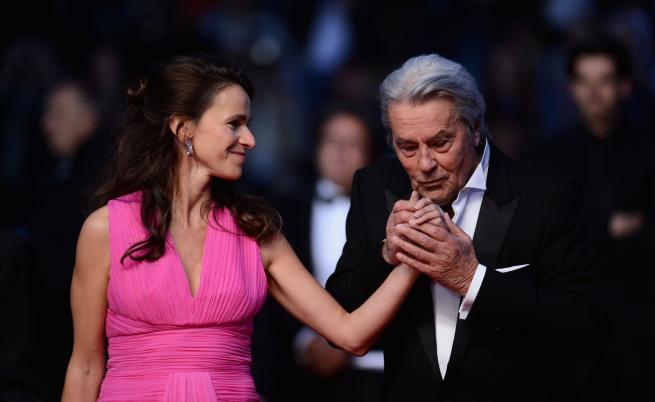 Кинофестивалът в Кан започна със скандал с Ален Делон