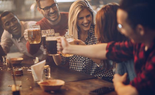 Ето коя е държавата първенец по пиене в света