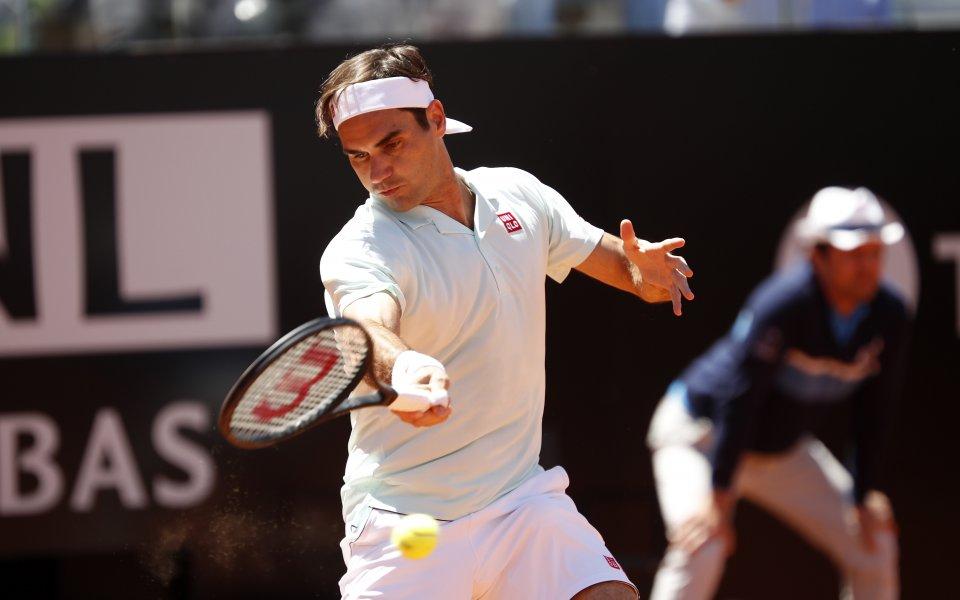 Надал и Федерер започнаха успешно в Рим, но ги чака тежък ден