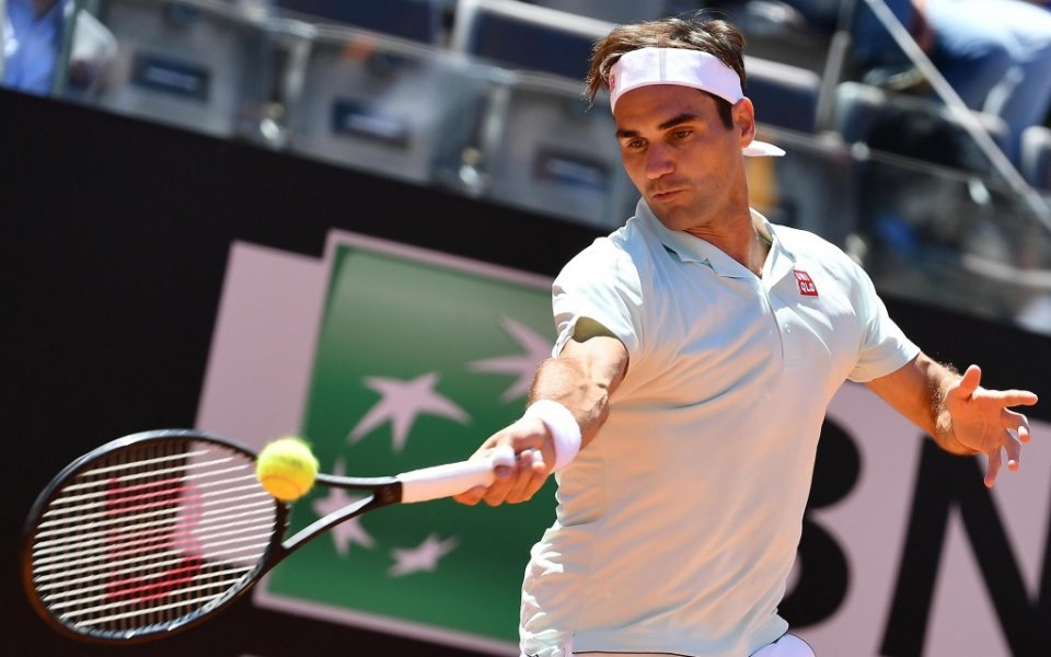 Четирикратният финалист Роджър Федерер преодоля третия кръг на турнира от