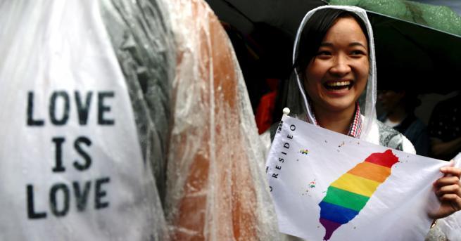 Свят За първи път държава в Азия узакони гей браковете