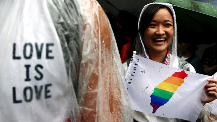 За първи път държава в Азия узакони гей браковете