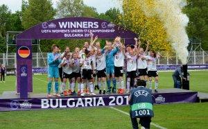 Германия е новият европейски шампион по футбол за девойки