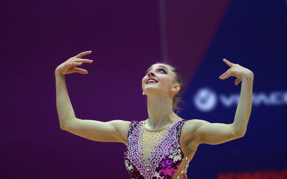 Боряна Калейн на финал в Минск
