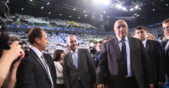 България Борисов: Ние сме като Кобрата ГЕРБ проведе основното си