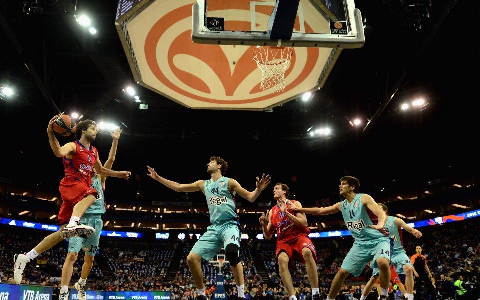 ЦСКА Москва спечели най-престижния европейски баскетболен турнир - Евролигата за