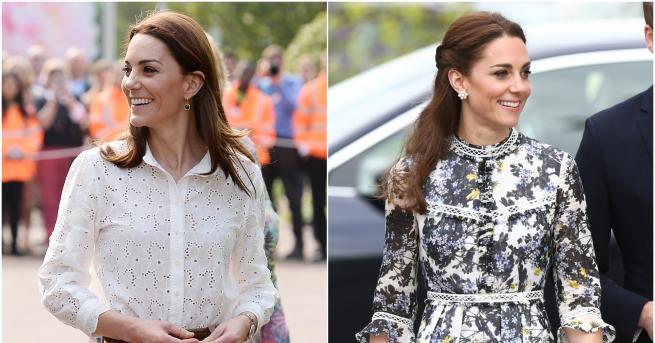 Вчера херцогинята на Кеймбридж присъства на откриването на ежегодната изложба