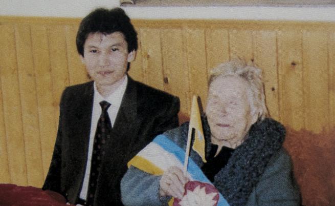 Кирсан Илюмжинов и Ванга