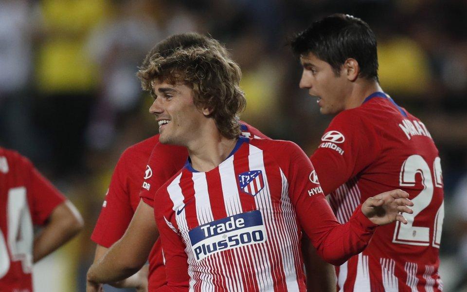 Нападателят на Атлетико Мадрид Диего Коста отново се контузи по