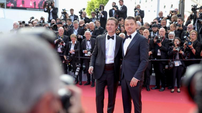 Лео ди Каприо и Брад Пит заедно по червения килим в Кан