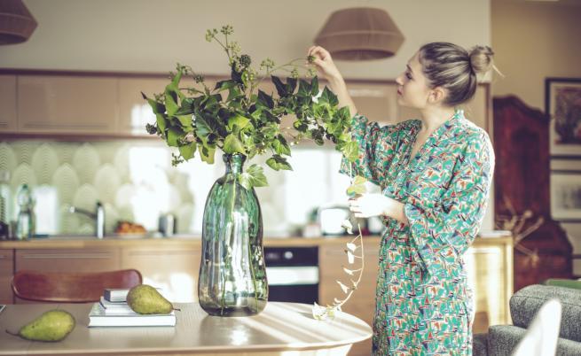 Една причина защо трябва да имате свежи цветя в дома