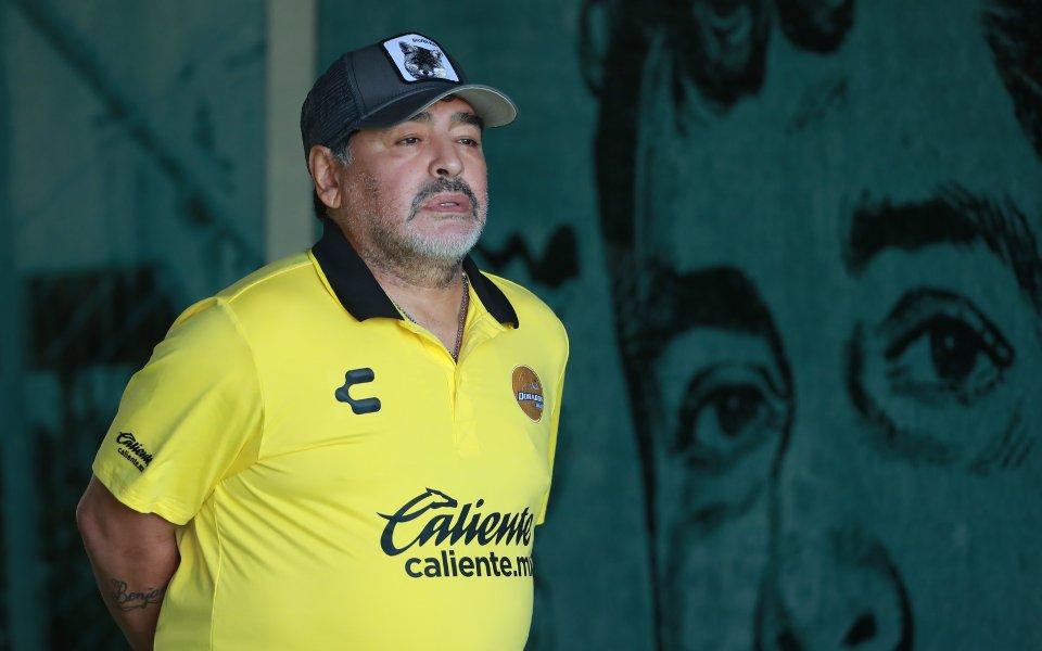 Диего Марадона се завърна в треньорската професия