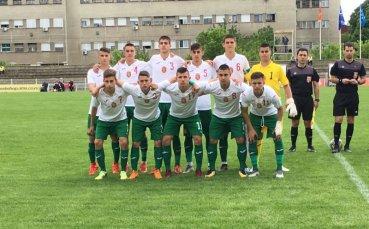 България U16 завърши със загуба от Северна Македония в Белград