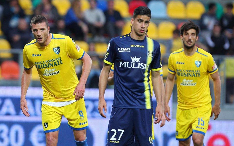 Фрозиноне и Киево Верона завършиха 0:0 в последен мач от
