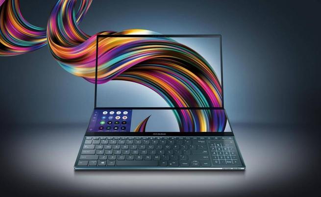 Asus представи лаптоп с два дисплея
