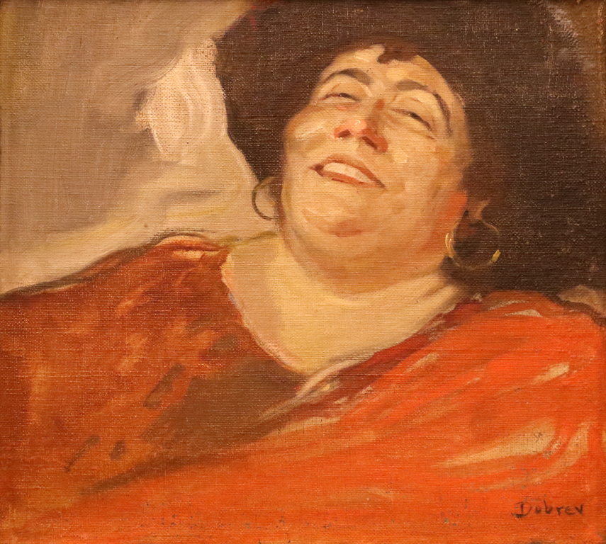 Портрет на оперната певица Христина Морфова 1926/27