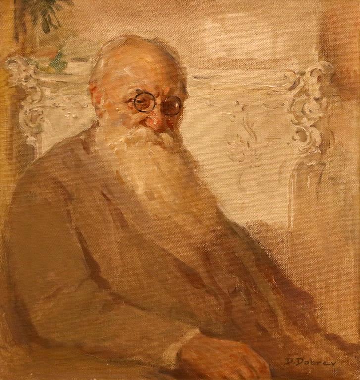 Портрет на художника проф. Иван Мърквичка 1929