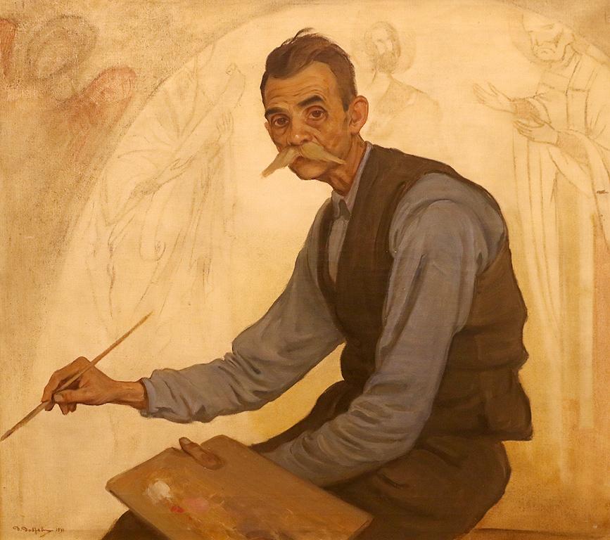 Иконописецът Атанас Кавръков 1941