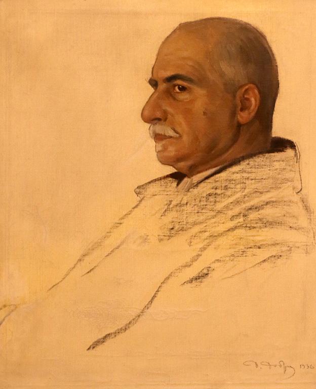 Портрет на бащата на художника 1936