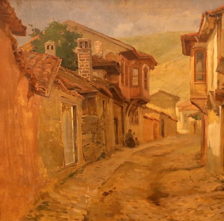 Стара улица в Сливен 1923