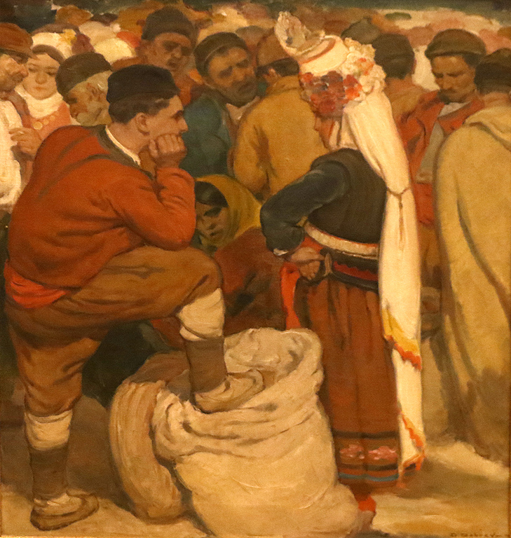 Селяни на пазар 1932