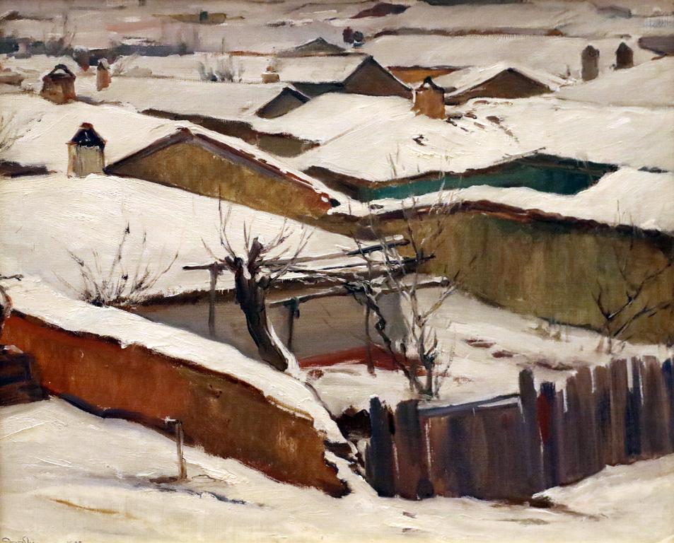 Зима в Клуцохор 1937