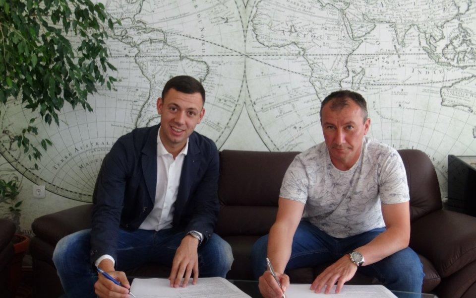 Часове след като подписа, Стамен Белчев обяви целта на Арда в Първа лига