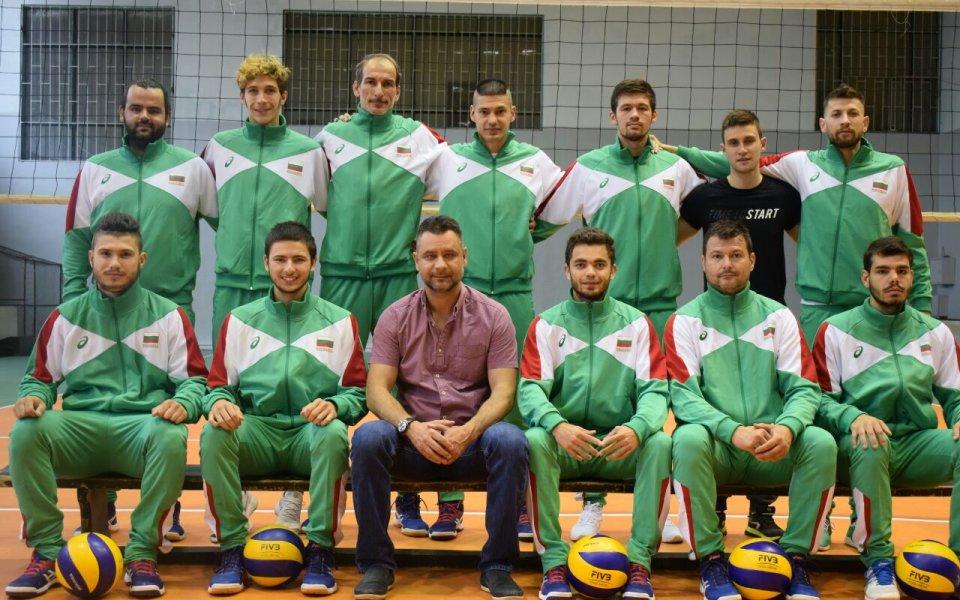 Волейболните национали с увреден слух заминават за Европейско