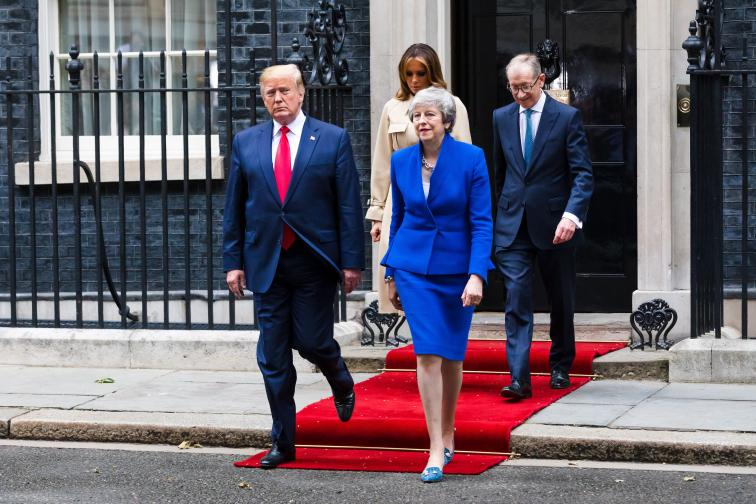 Доналд Тръмп изрази подкрепа за Брекзит и каза, че след това САЩ и Великобритания могат да сключат