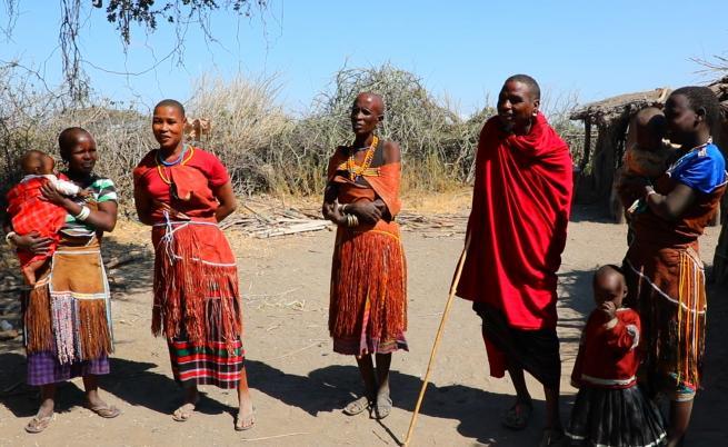 Близка среща с племето Датога