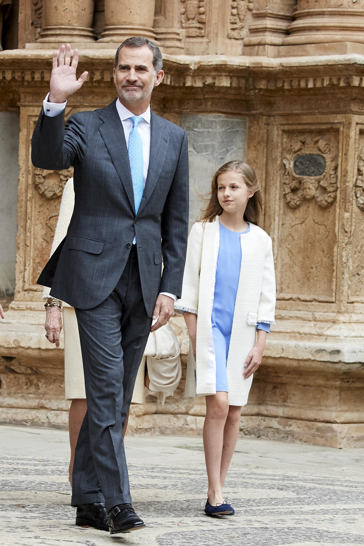 Принцеса Леонор Испанска, 13-годишна.<br /> Наследничката на трона на Испания принцеса Леонор е по-голямата от двете дъщери на крал Фелипе Шести и кралица Летисия.