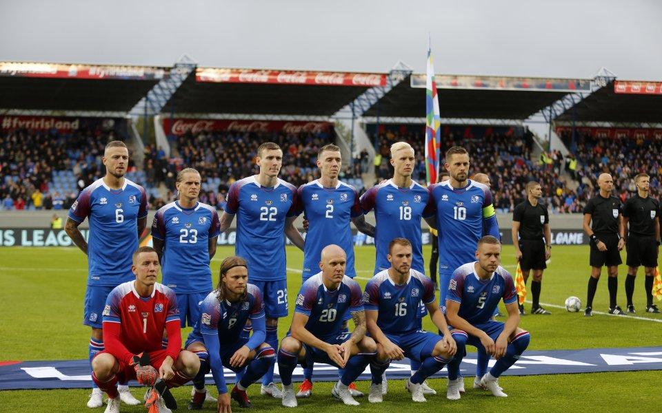 Исландия завърши групата си на 3 място след пестелив успех в Молдова