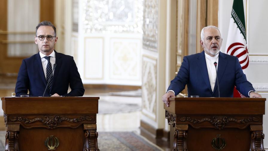 Външните министри на Германия и Иран - Хайко Маас и Мохамад Джавад Зариф
