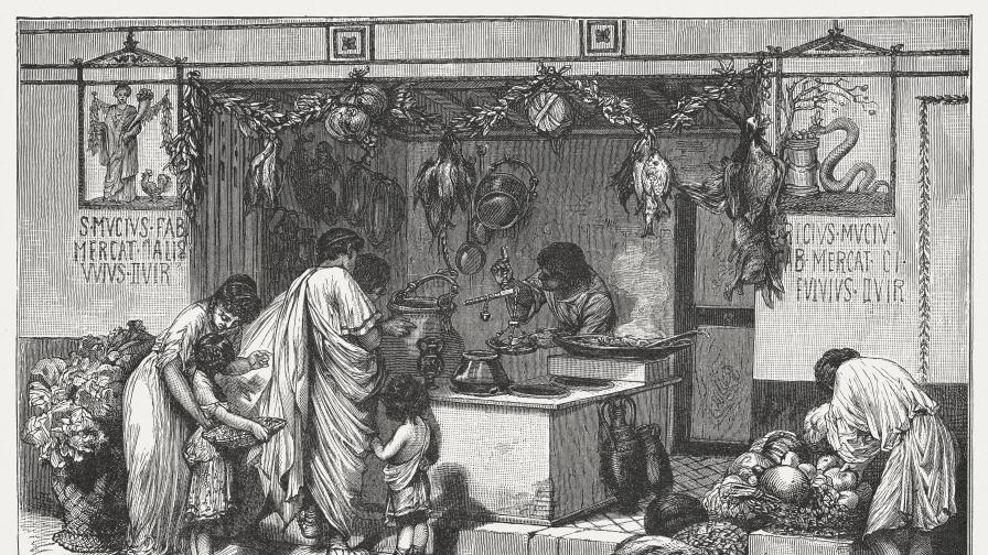 <p><strong>Диетата</strong> на бедни и богати в <strong>Древен Рим</strong></p>