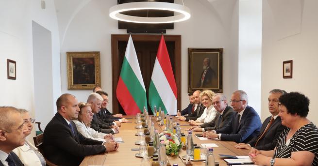 България Радев и Орбан за миграцията и сътрудничеството между двете