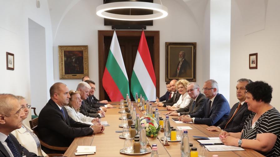 Радев и Орбан за миграцията и сътрудничеството между двете страни