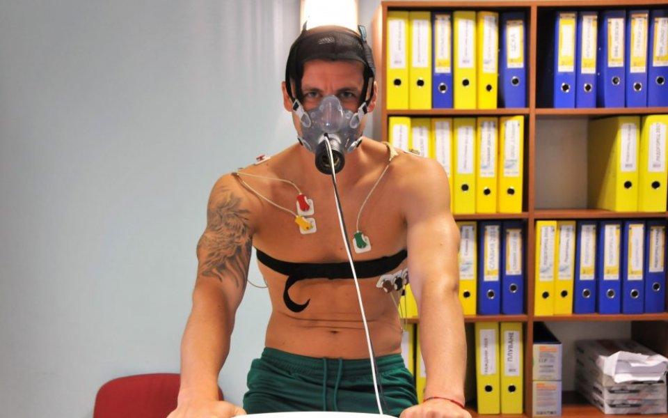 Част от футболистите от представителния отбор на Берое преминаха медицински