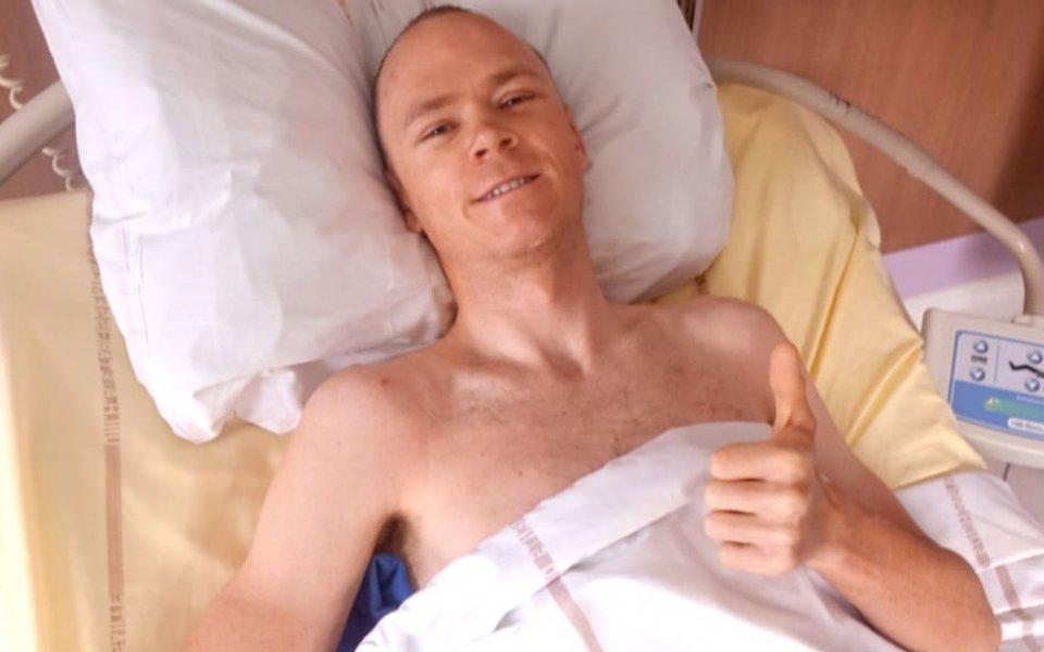Крис Фрум: Имам късмет, че съм жив