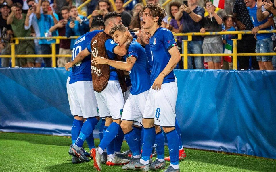 Италия с убедително начало на Европейското за младежи