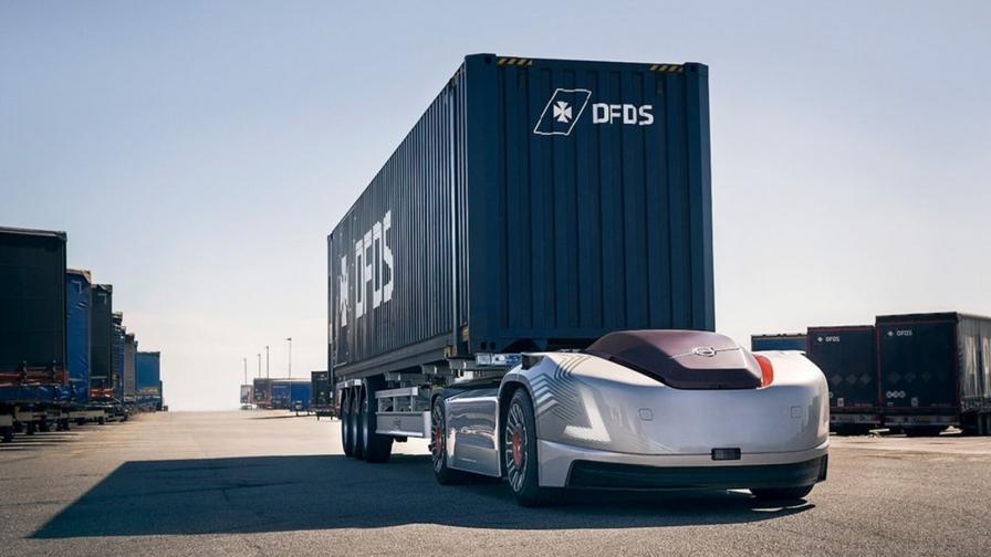 Влекачът от бъдещето: автономен и на ток
