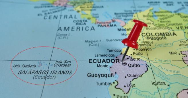 Свят Еквадор дава островите Галапагос на ВВС на САЩ Споразумението